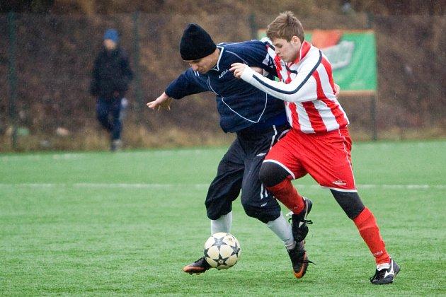 Fotbal (příprava): K. Hora B - Paběnice 0:2, neděle 8. února 2009