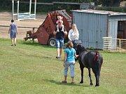 V Přítokách se sešli milovníci koní.