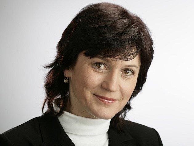 Poslankyně Olga Zubová.