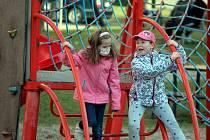 Dětské hřiště v Kutné Hoře.
