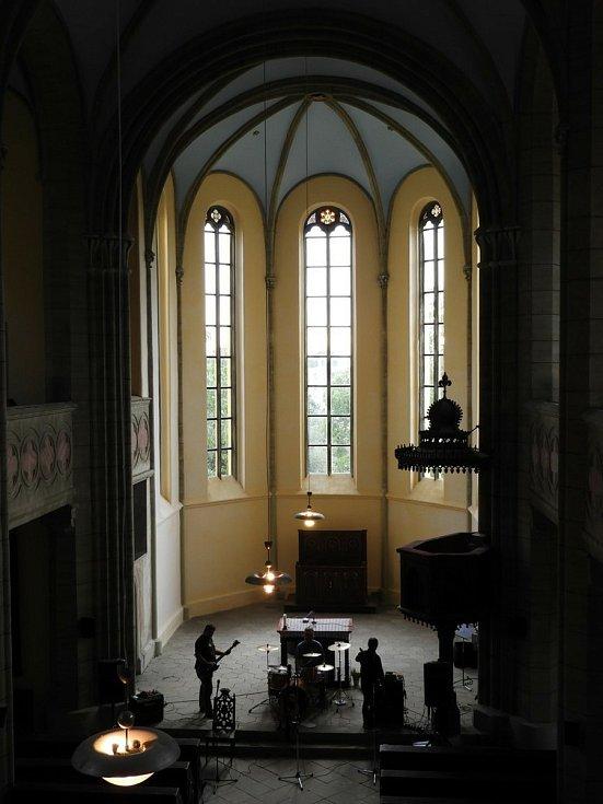 Koncert v evangelickém kostele v Čáslavi.