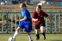 9. kolo III. ženské ligy: Jestřábí Lhota - Kutná Hora, 31. října 2010.