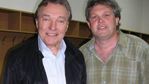 Karel Gott a Petr Klér.