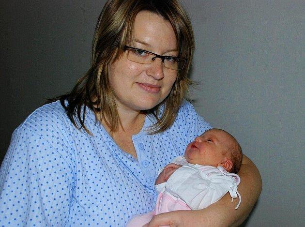 Alice Klepetková se narodila 13. září v Čáslavi. Vážila 2 850 gramů a měřila 48 centimetrů. Doma v obci Lomec ji přivítá maminka Alena a tatínek Miroslav.