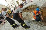 Propad v Kutné Hoře. 19.7. 2012