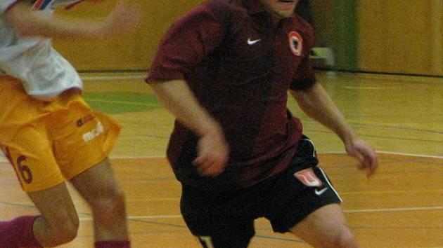 Z utkání I.ligy futsalu FC Benago Zruč n. S. - ECO Investment Praha 2:2, středa, 17. září 2008