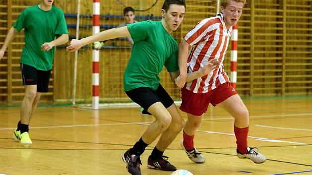 1. kolo Okresního futsalového přeboru Kutnohorska, 23. listopadu 2014.