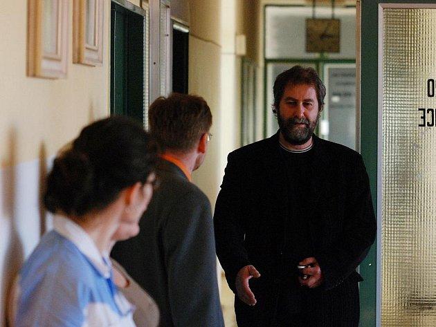 Setkání zaměstnanců kutnohorské nemocnice se starostou města Ivo Šalátkem. 19.11. 2009