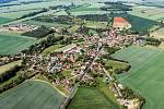 Letecký snímek Miskovic.