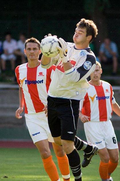 I. A třída: Čáslav - Bakov n. J. 1:2, neděle 9. srpna 2009