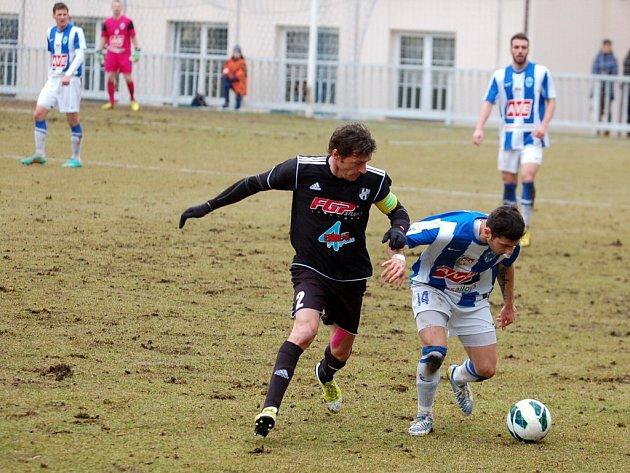 Fotbalová národní liga: Čáslav - HFK Olomouc, 7. dubna 2013.