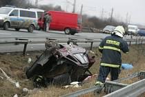 Smrtelná dopravní nehoda 6. února poblíž Čáslavi.
