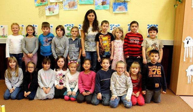 Základní škola T.G. Masaryka Kutná Hora, třída I.C střídní učitelkou Jaroslavou Tvrdíkovou