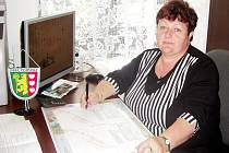 Eva Mottlová, starostka obce Podveky.