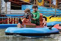 Kácovská pouť nabídla zábavu dětem i porci adrenalinu pro dospělé