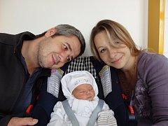 Lukáš Tidik se narodil 16. října v Čáslavi. Vážil 3420 gramů a měřil 52 centimetrů. Doma ve Zbraslavicích ho přivítali maminka Štěpánka, tatínek Lukáš a sestry Nikolka a Petra.