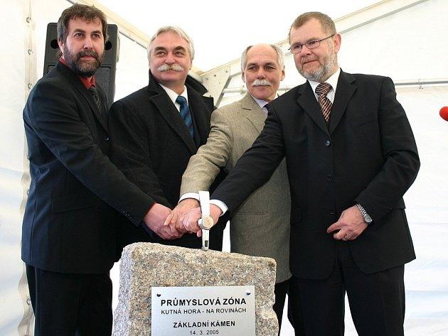 Průmyslová zóna Na Rovinách v Kutné Hoře se oficiálně zrodila před dvěma roky.