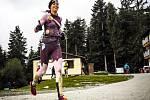 Martina Fabiánová na trati Spartan Lipno BEAST, kterou dokončila na třetím místě.