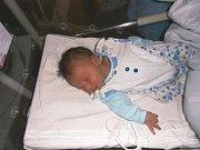 Vojtěch Řehák se narodil 24. června v Čáslavi. Vážil 3100 gramů a měřil 50 centimetrů. Doma v Konárovicích ho přivítali maminka Petra a tatínek Jiří.