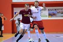 Futsalisté Sparty hrají v pátek v Kutné Hoře proti Helasu Brno.