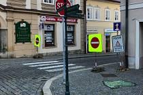 """""""Klášterkou"""" v Kutné Hoře řidiči neprojedou až do pátku 30. listopadu 2018."""
