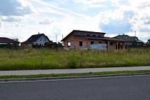 Volna plocha v lokalitě Nový Čeplov