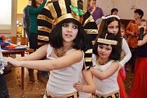 Všichni účastníci dětského karnevalu v Církvici si odpoledne užili
