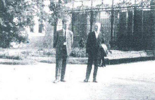 Dobová fotografie z archivu pana Daneše