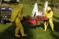 Ukázka z činnosti 152. záchranného praporu v Kutné Hoře.