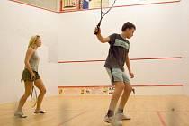 Mikulášský squashový turnaj ve Squash klubu Zlatá Husa, čtvrtek 4. prosince 2008