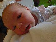 Klaudie Hasalová se narodila 22. dubna v Čáslavi. Vážila 3050 gramů a měřila 50 centimetrů. Doma v Kutné Hoře ho přivítali maminka Veronika a tatínek Gregor.