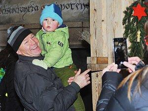 Malešov si užíval předvánoční adventní atmosféru.