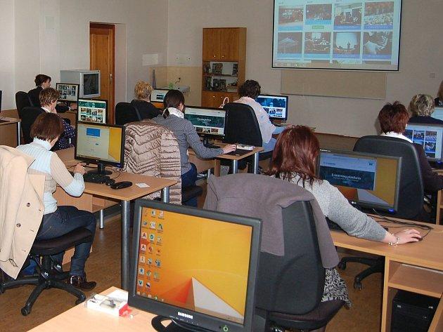 Z mezinárodního semináře na Vyšší odborné škole, Střední průmyslové škole a Obchodní akademii v Čáslavi.