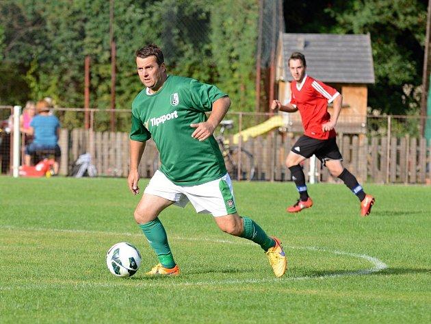 Přípravné utkání: Malešov - Bílé Podolí 0:3 (0:0), 21. srpna 2016.