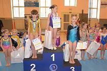 Kolínští gymnasté byli v Poděbradech úspěšní.