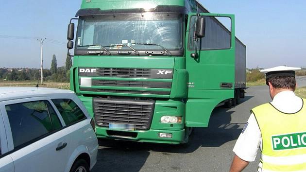 Kutnohorští policisté dopadli řidiče podvodníka. 26.9.2011