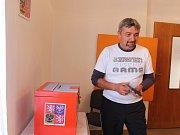 Volič v Močovicích.