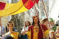 Dvacátý ročník Královského stříbření uvítali v sobotu ráno diváci v  Kutné Hoře.