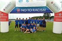 Čáslavská fotbalová sedmnáctka třetí na Bavaria Cupu.
