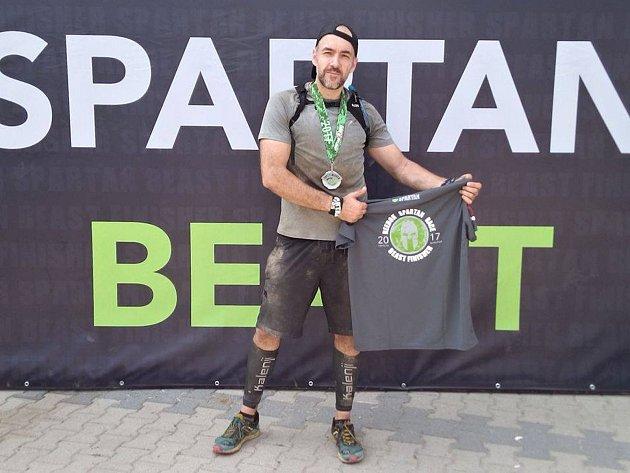 Jan Litopad běhá závody Spartan Race za SRTG Kutná Hora.