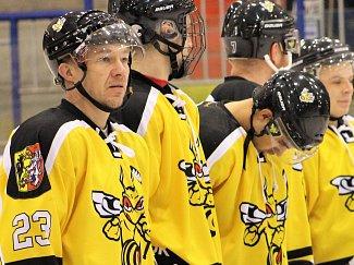 Martin Meloun (číslo 23) hraje v Kutné Hoře dvacet let.