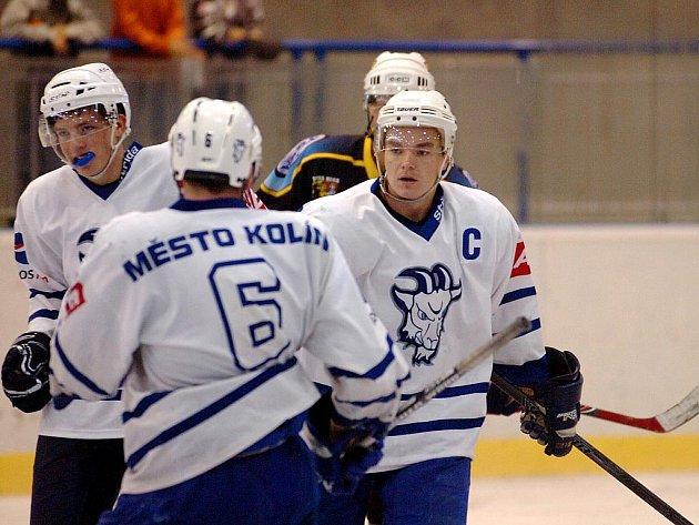 Hokej Kutná Hora - Kolín, 5:6, přípravný zápas, 17. srpna 2010