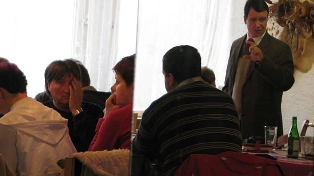 Své záměry s kutnohorskou nemocnicí představil středočeský hejtman David Rath na konferenci zdravotnické záchranné služby v OK Clubu Lorec v Kutné Hoře.