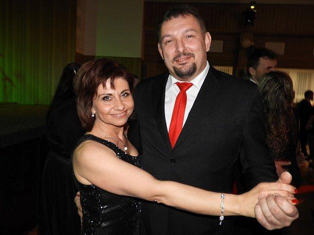 V Grandu tančili na plese Mikroregionu Čáslavsko.