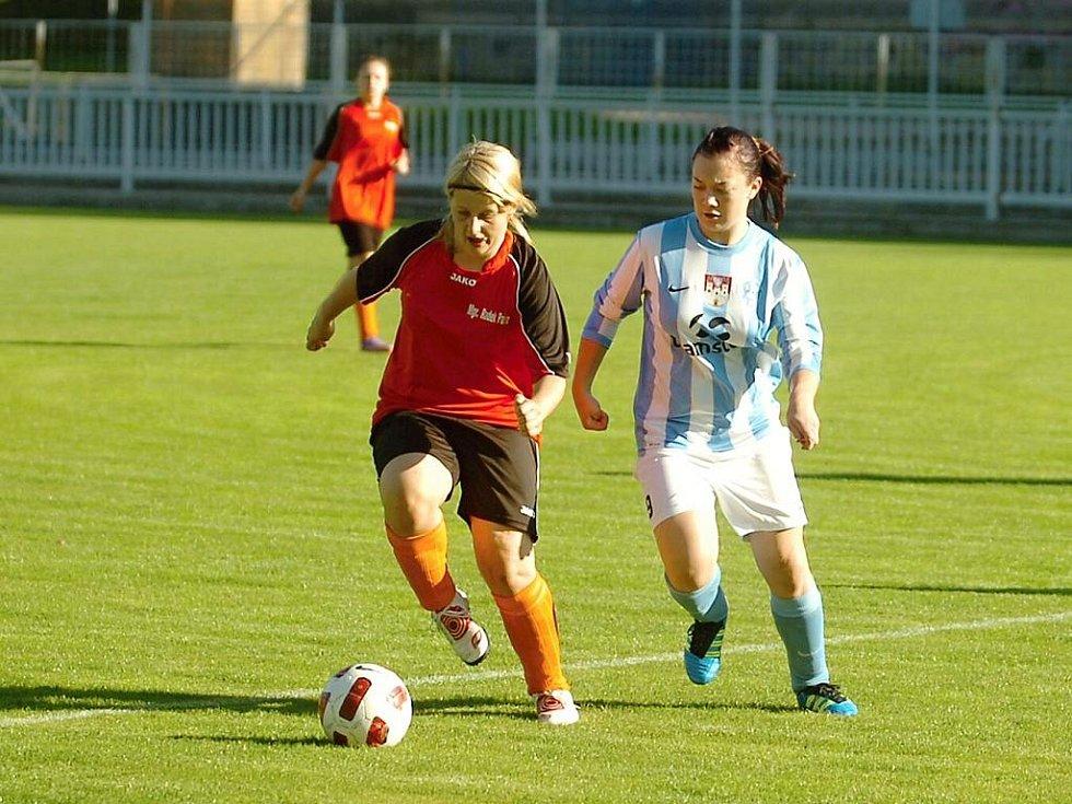 Fotba ženy, Čáslav - Kutná Hora, 1:0.