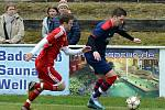 Fotbalista Jakub Süsser (v modrém) hraje v Německu za Bad Kötzing. Foto: FB Bad Kötzing