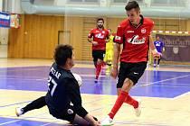 1. kolo Chance futsal ligy: Benago Zruč n. S. - Sparta Praha 5:3, 11. září 2015.