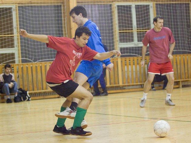Futsal liga: 6. hrací den kutnohorské Futsal ligy Restaurace Na Valech, čtvrtek 4. prosince 2008