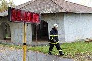 Závody hasičů v běhu na rozhlednu Vysoká