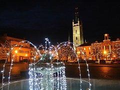 Vánoční výzdoba v Čáslavi 2017.